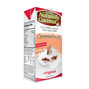 Leche de COCO - Naturally Coconut 1 Lt