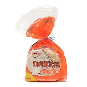 Tortillas Maiz Gruesitas Tortiricas - 20 Und