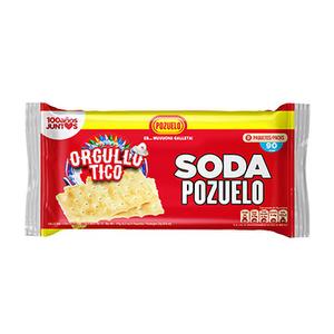 Galleta Soda Pozuelo 176 Gr