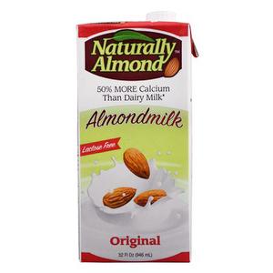 Leche de Almendras ORIGINAL - Naturally Almond 1 Lt