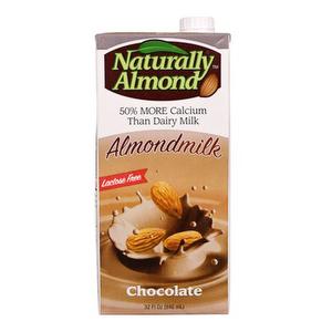 Leche de Almendras CHOCOLATE - Naturally Almond 1 Lt