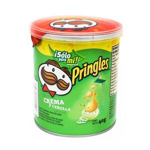 Papas Pringles - Crema y Cebolla - 40 gr