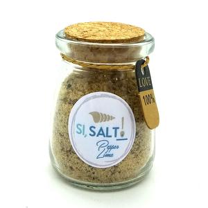 Sal con Pimienta y Lima - 80 grs - Si Salt