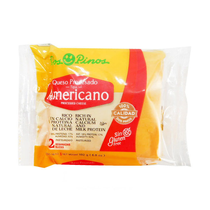 Queso Americano x 12 - Dos Pinos - 192 grs