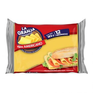 Queso Americano x 12 - La Granja - 192 grs