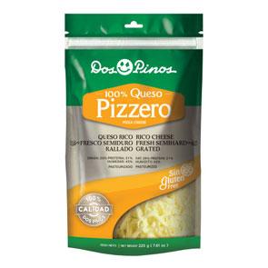 Queso Pizzero Rallado - Dos Pinos - 225 grs