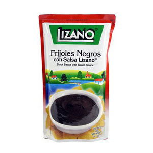 Frijoles Negros Molidos en Salsa Lizano - 227 grs