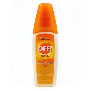 Repelente Mosquitos OFF Family - 177 ml
