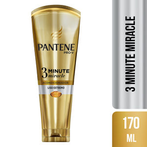 Pantene 3 Minute Miracle Liso Extremo - 170 ml