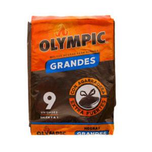 Bolsas Negras para Basura Grandes x 9 - Olympic