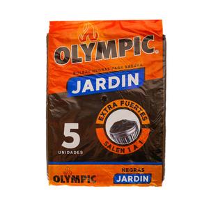 Bolsas Negras para Basura Jardín x 5 - Olympic