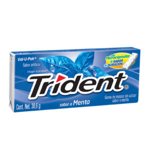 Chiclets Trident Menta