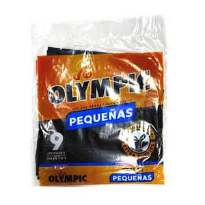Bolsas Negras para Basura Pequeñas x 9 - Olympic