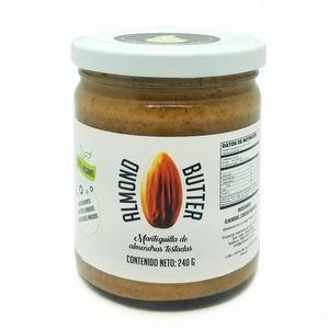 Mantequilla de Almendras 100% Natural 240 grs - Go Food Pro