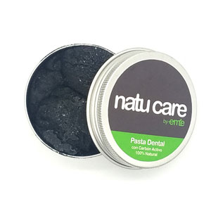 Pasta Dental Natural - Carbón Activo - 70 grs - Natucare
