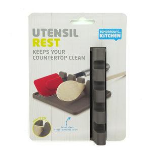 Bandeja gris para utensilios de cocina - Tomorrow's Kitchen