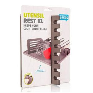 Bandeja gris para utensilios de cocina XL - Tomorrow's Kitchen