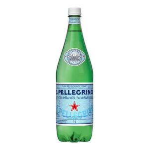 Agua Gasificada San Pellegrino Botella 1 Lt