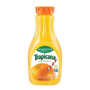 Jugo de Naranja 100% Con Pulpa Tropicana 1.5 Lt