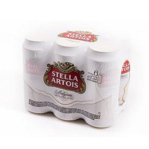 Pack de 6 - Stella Artois Lata 350 ml