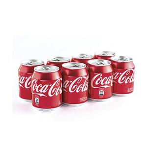 Minilatas x 8 - Coca Cola Regular