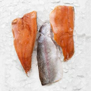 Filet Trucha c/piel roja -  200/300 grs - Martec