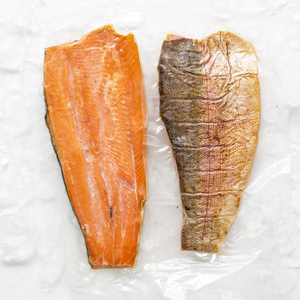 Filet Trucha AHUMADA c/piel -  200/300 grs - Martec