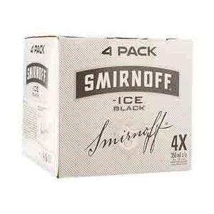 Pack de 4 - Smirnoff Ice Black - 250 ml
