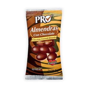 Almendras con chocolate PRO 70 grs