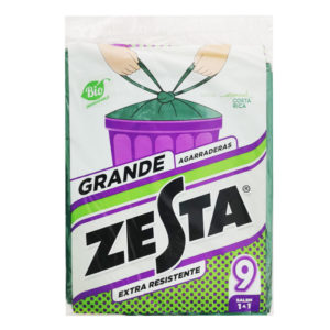 Bolsa Zesta Biodegradable GRANDE - 9 und