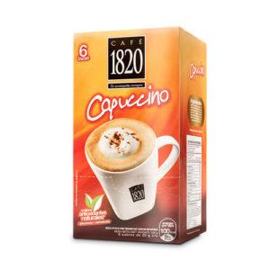 Café Instantáneo 1820 Capuccino - 6 tazas