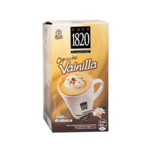 Café Instantáneo 1820 Capuccino Vainilla - 6 tazas