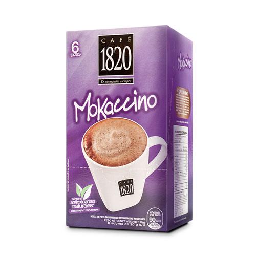 Café Instantáneo 1820 Mokaccino - 6 tazas