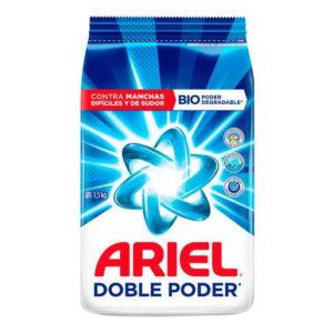 Jabón ARIEL Doble Poder - 1500 grs