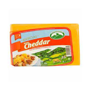 Queso Cheddar - Monteverde - 300 grs