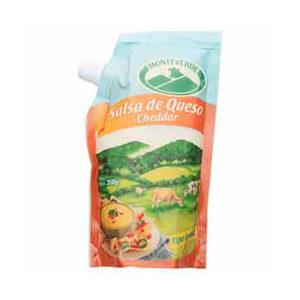 Salsa de Queso Cheddar - Monteverde - 350 grs