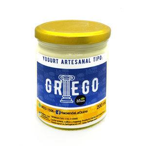 Yogurt GRIEGO - Natural - 200 ml - La Quina