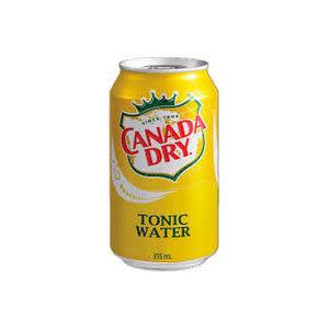 Lata Canada Dry Agua Tónica 355 ml