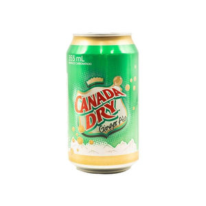 Lata Canada Dry Ginger Ale 355 ml