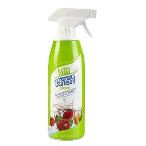 Desinfectante Frutas y Verduras - Via Wash - 500 ml