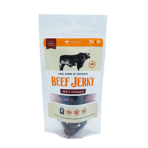 Beef Jerky SPICY Smoked – Grass Feed