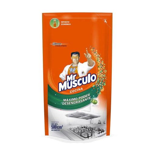 Mr Músculo Cocina Refill - 500 ml