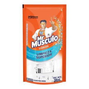 Mr Músculo Vidrios Refill - 500 ml