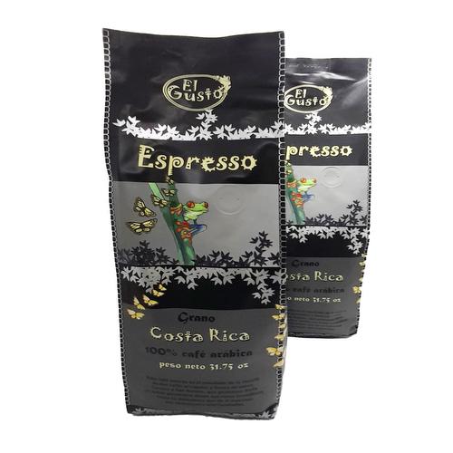 2x1 Café en Grano Espresso 900 gr - El Gusto