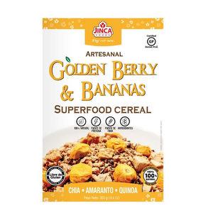 Cereal Golden Berry & Bananas 300 grs - Jinca