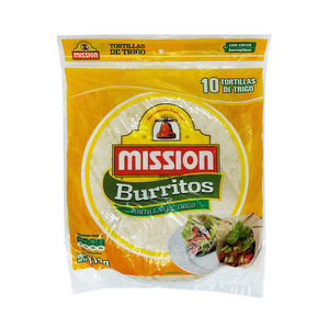 Mission Wraps x 10 - Burritos - XL