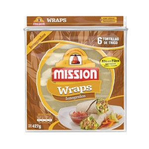 Mission Wraps x 6 - Integrales - XL