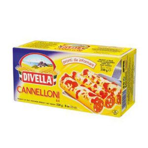 Canneloni Divella 250 grs
