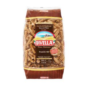 Divella Fusilli 40 Integral - 500 grs
