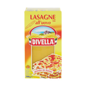 Divella Lasagne all'uovo - 500 grs